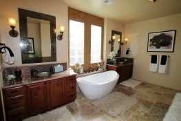 Calico Rose Master Bathroom