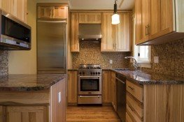 Another unit's remodeled kitchen