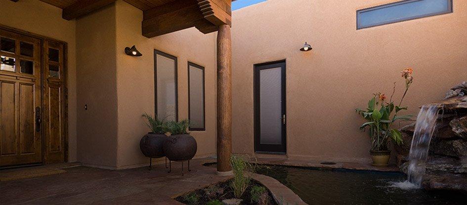 Custom design-build home - exterior view