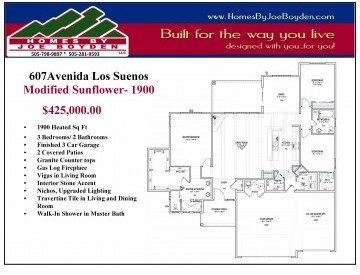 Amazing 1905 square foot home with upogrades.
