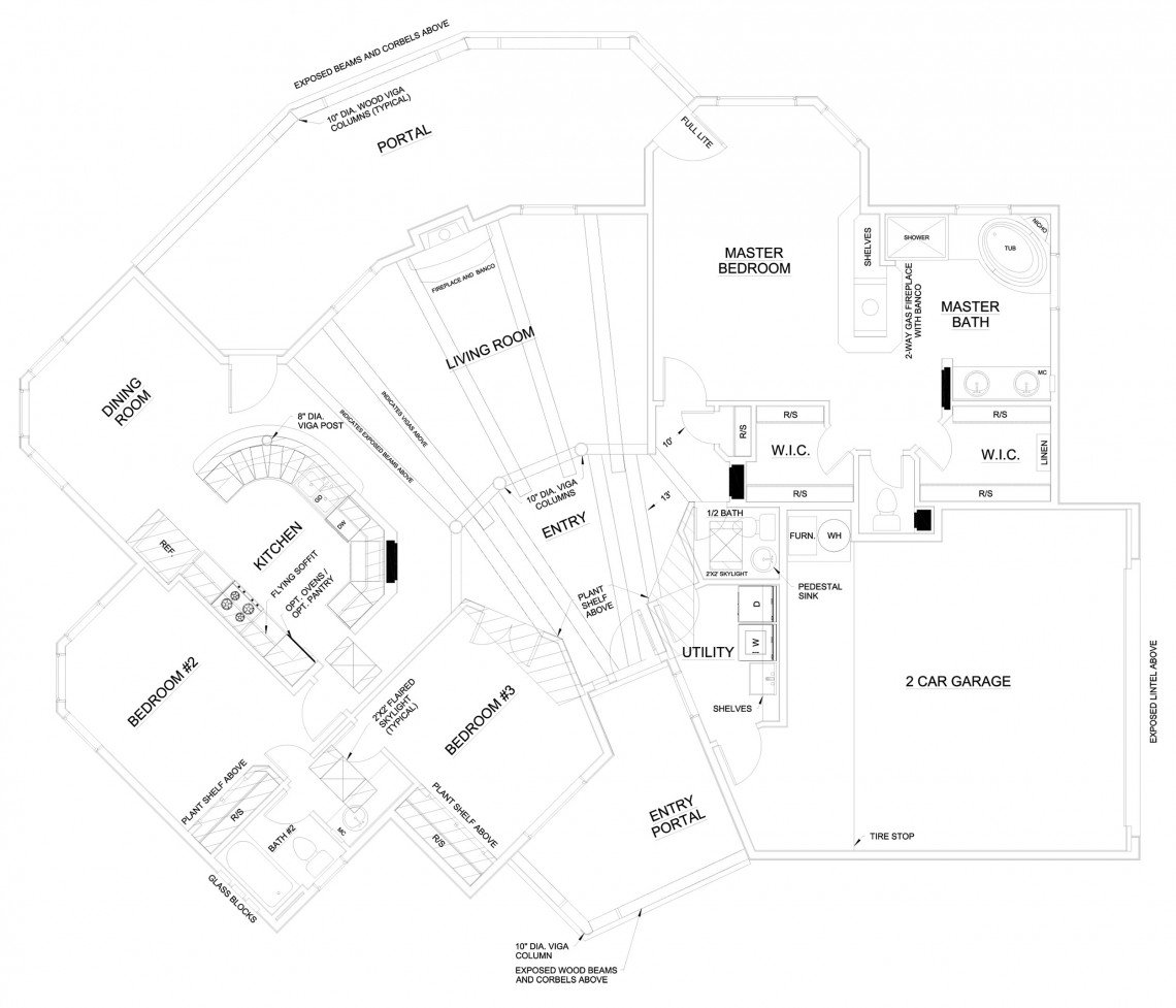 Black Iris Floorplan - 1,943 sq ft