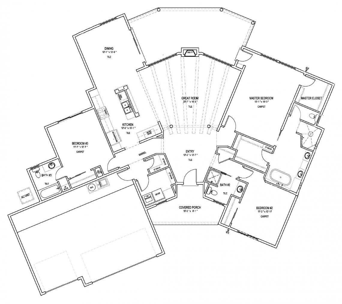Black Iris Floorplan - 2,056 sq ft