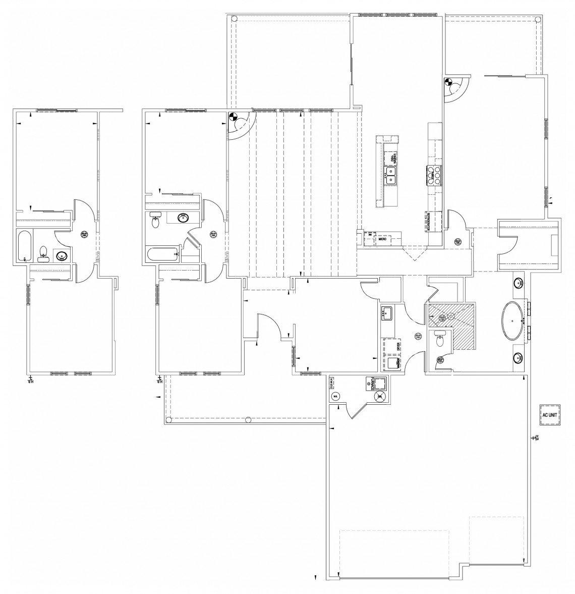 Calico Rose Floorplan - 2,500 sq ft