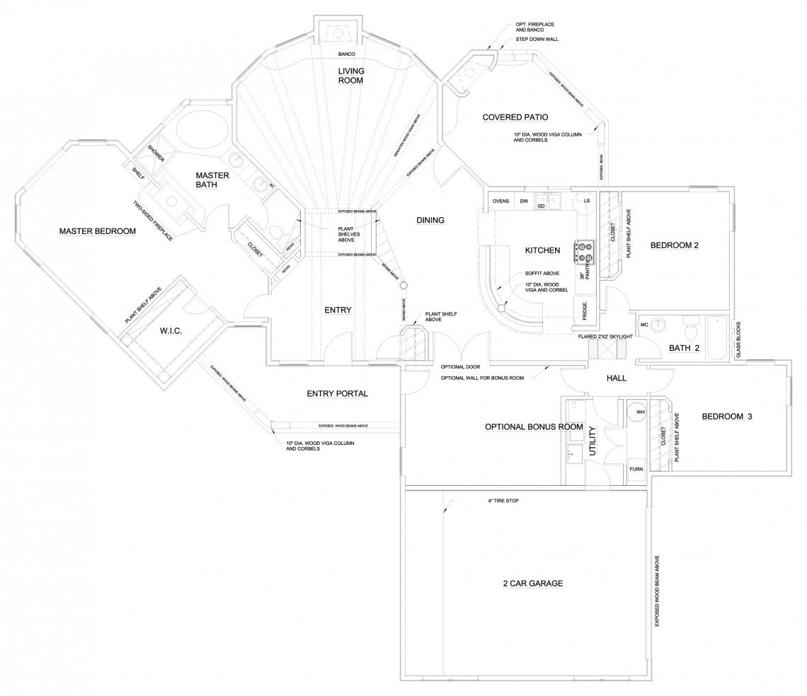 Calla Lilly Floorplan - 2,035 sq ft