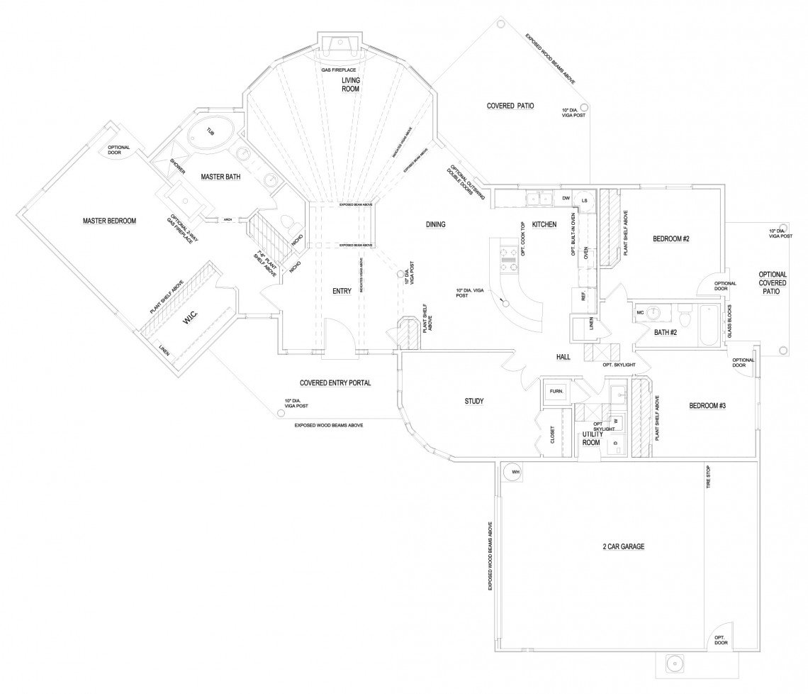 Calla Lilly Floorplan - 2,269 sq ft