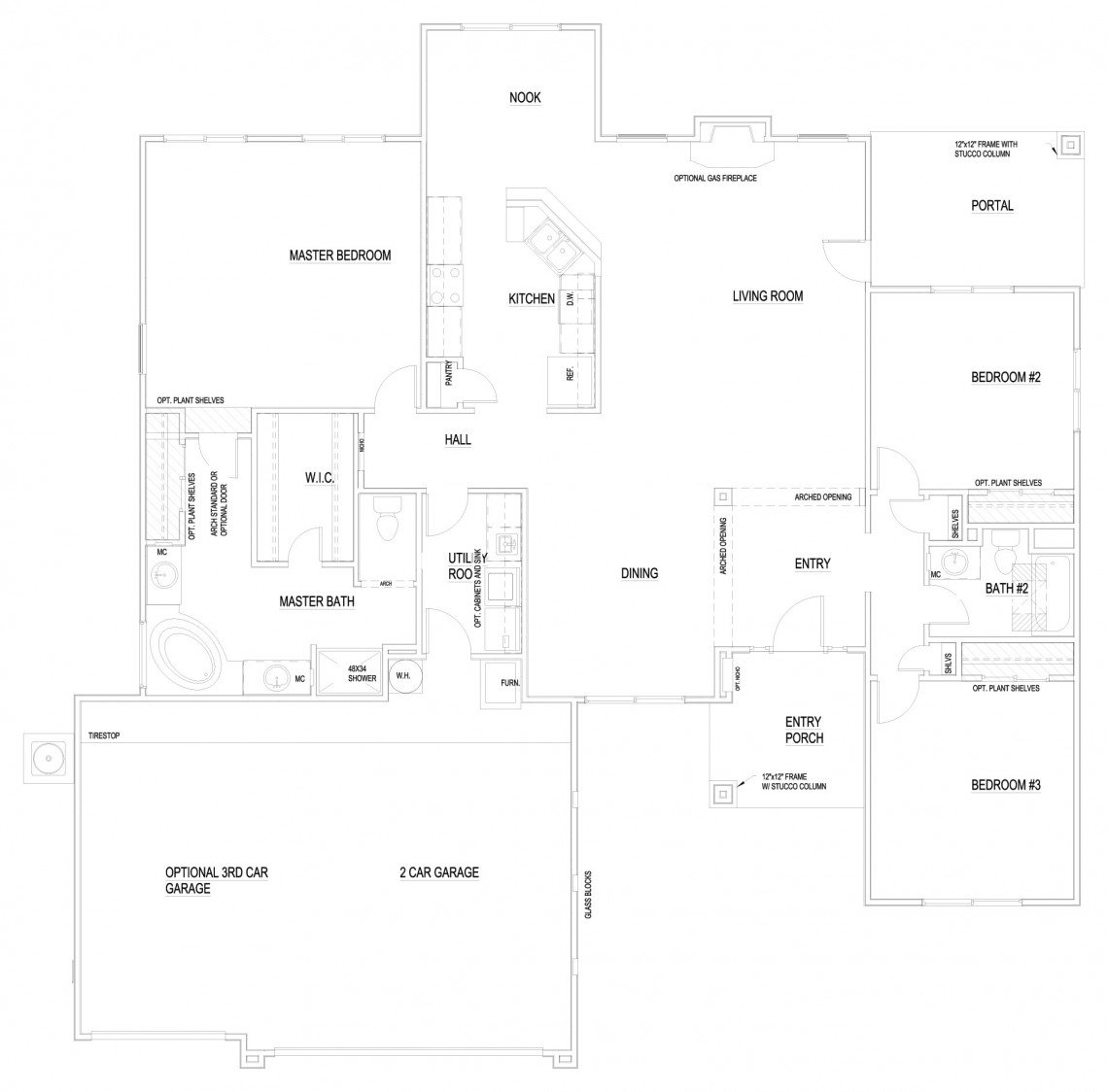 Kachina Floorplan - 1,958 sq ft