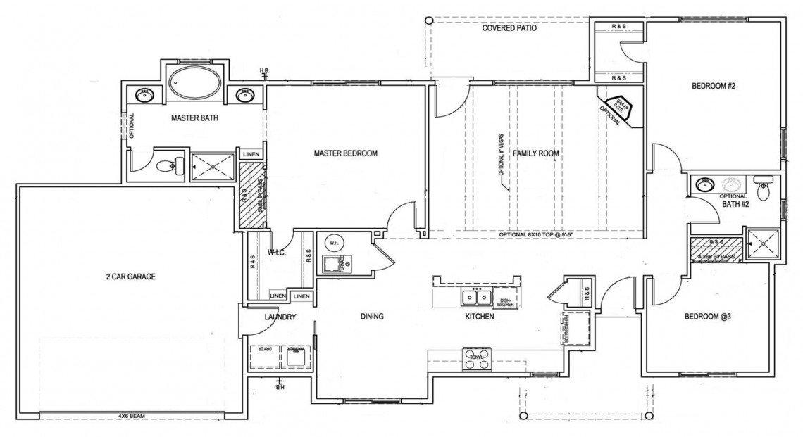 Maple Floorplan - 1,522 sq ft