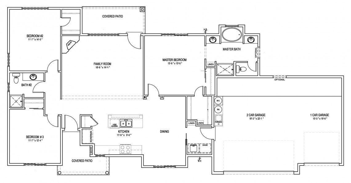 Maple Floorplan - 1,536 sq ft