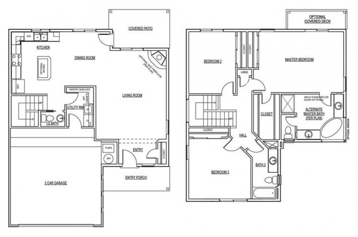 Maple Floorplan - 1,789 sq ft