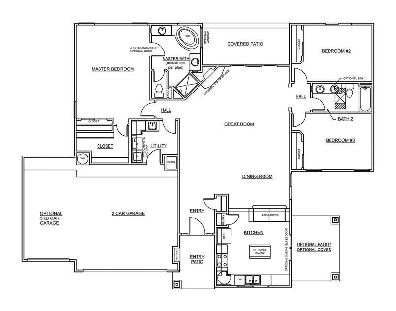 Pink Moon Floorplan - 1,857 sq ft