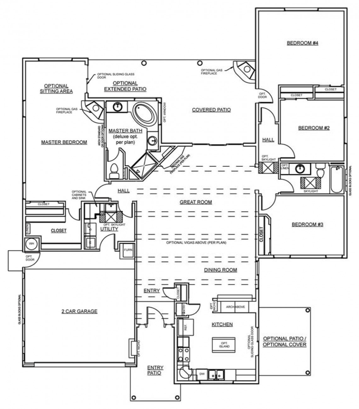 Pink Moon Floorplan - 2,110 sq ft