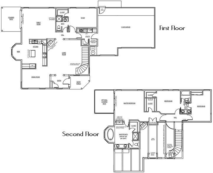 Red Hills Floorplan - 2,567 sq ft