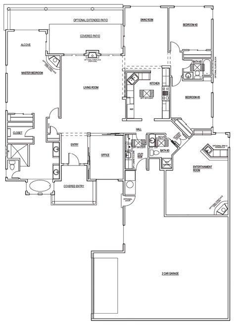 Sunflower Floorplan - 2,860 sq ft